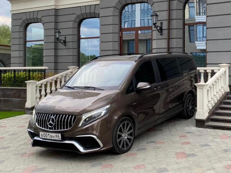 Mercedes V class 5 мест
