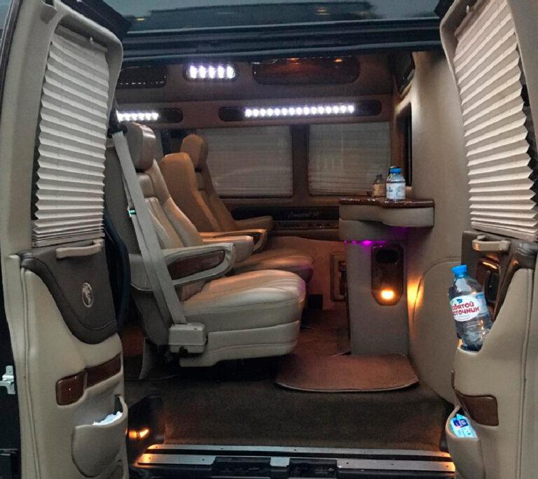 Chevrolet Express Vip 5 мест внутри